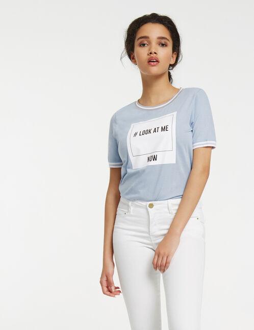 Cream super skinny trousers