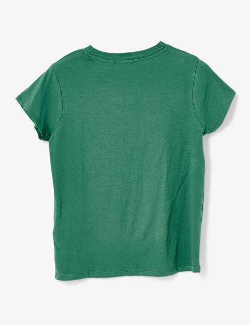 Basic green T-shirt