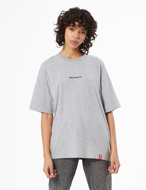 Tee-shirt zéro étiquette