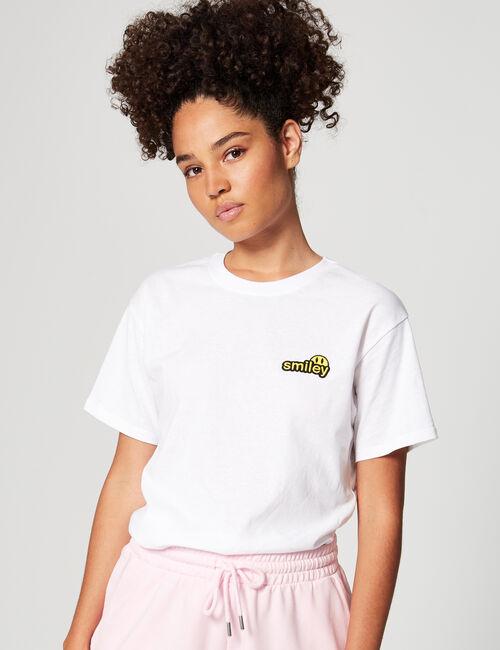 Tee-shirt loose Smiley