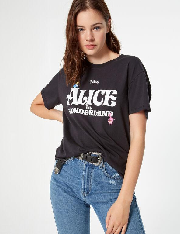 Tee-shirt Disney Alice au pays des merveilles