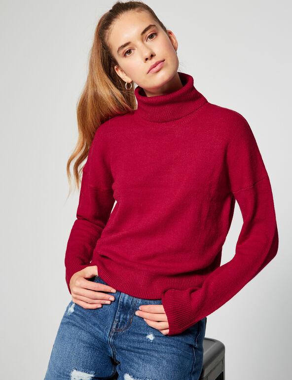 Roll-neck jumper