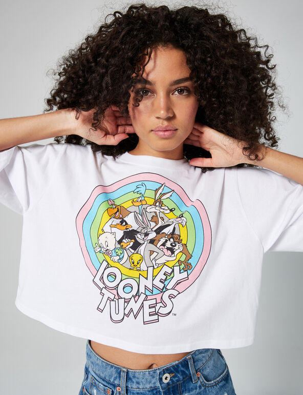 Tee-shirt court Looney Tunes