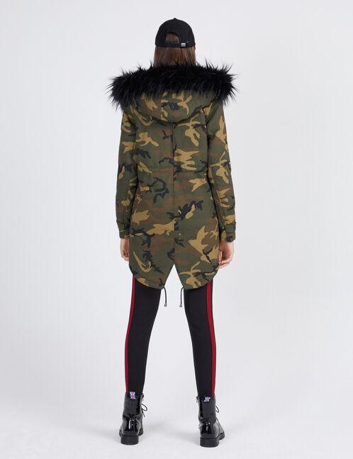 parka camouflage kaki