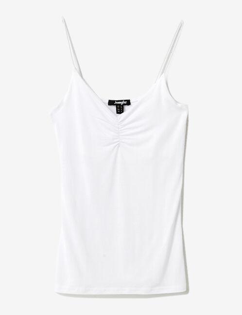 White spaghetti strap camisole