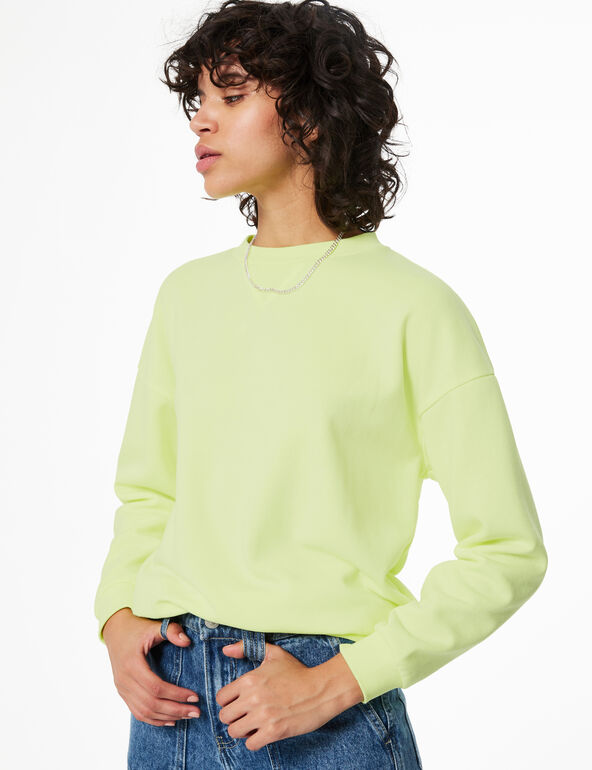 Sweatshirt with panel detail