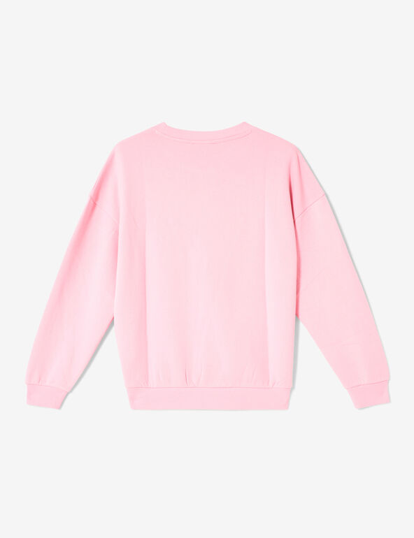 Basic pink sweatshirt