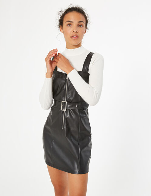 robe simili zippée
