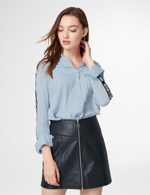 chemise nothing to loose bleu ciel
