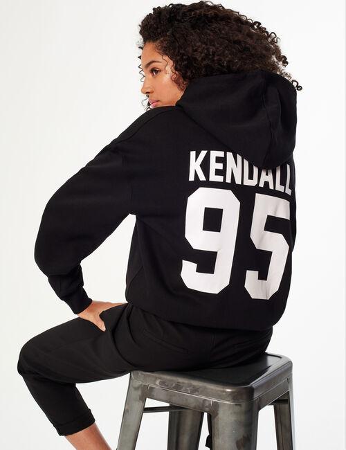 Sweat à capuche Kendall + Kylie