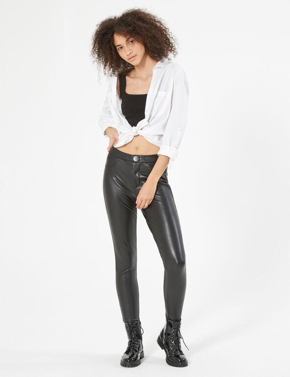 Pantalon simili