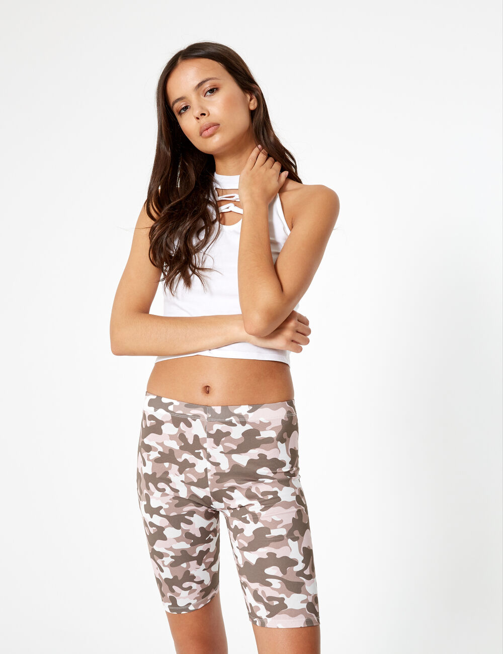 Cycliste camouflage rose 3f08c4ff470