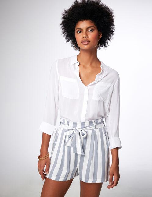 chemise basic blanche