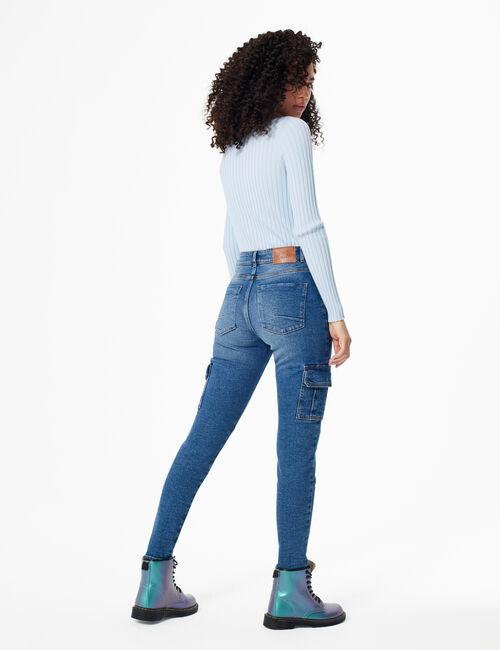 Cargo-style skinny jeans