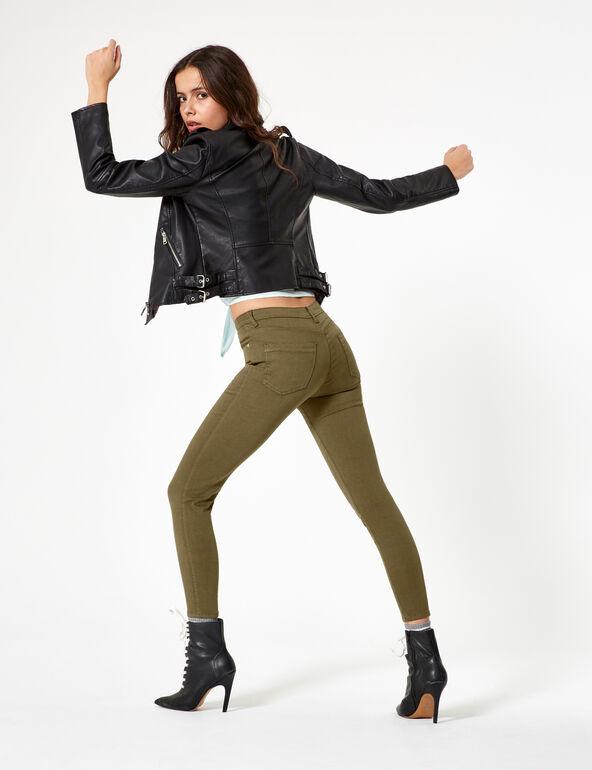 Jean skinny kaki