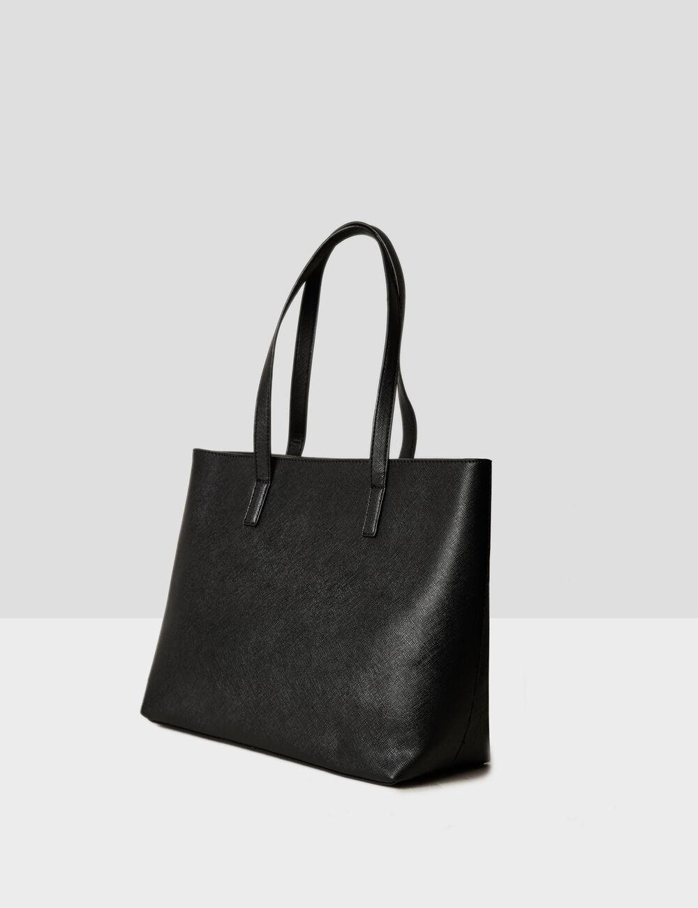 sac cabas noir femme jennyfer. Black Bedroom Furniture Sets. Home Design Ideas