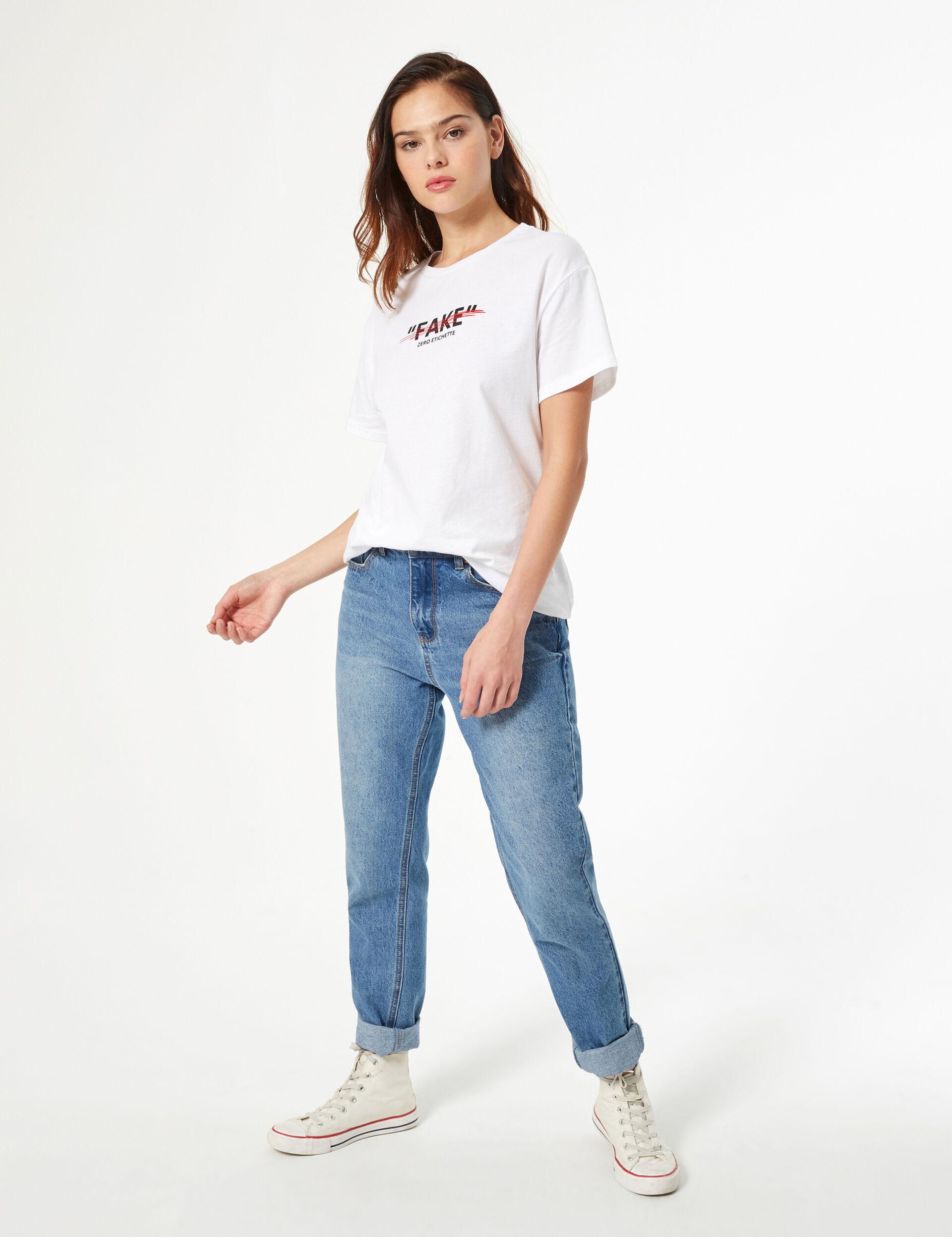 'Don't call me fake' T-shirt