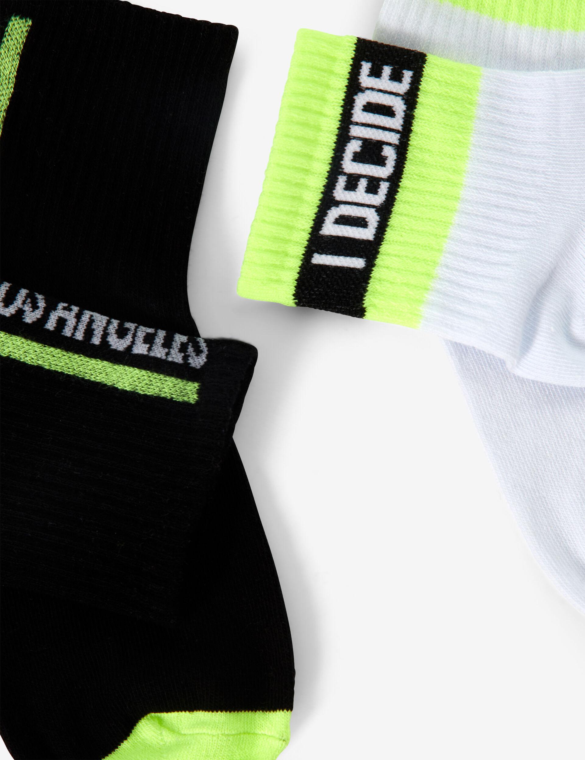 Slogan socks