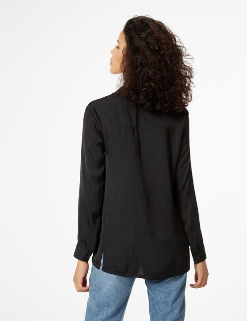 chemise satinée