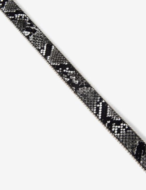 Western python belt