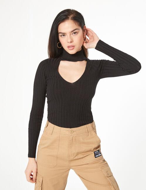 opening sweater