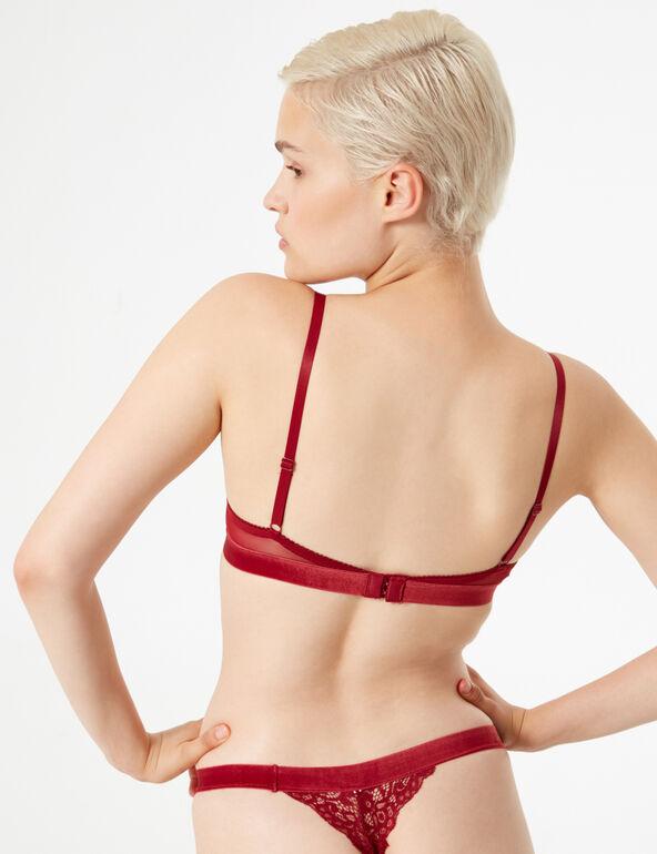 Velvet thong