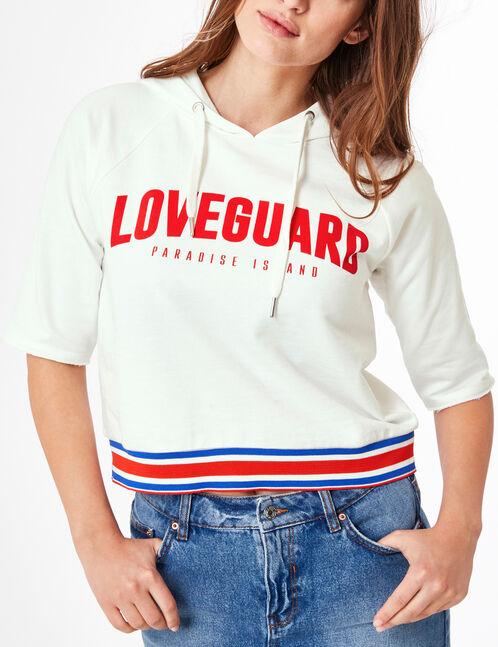 sweat loveguard écru