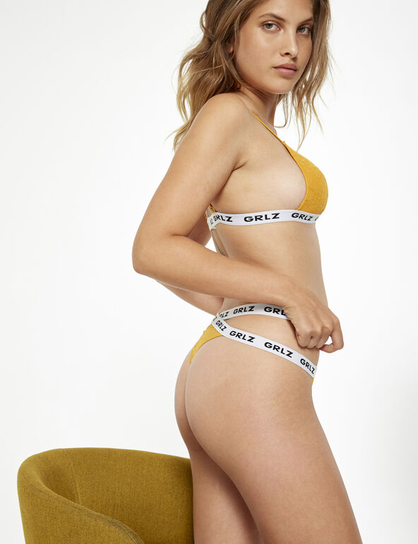 Grlz double band thong