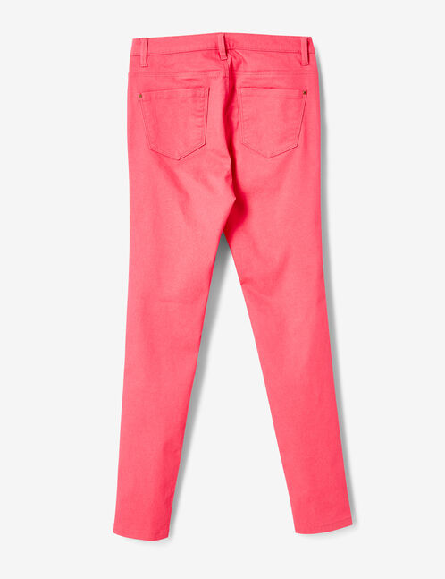 Fuchsia super skinny trousers