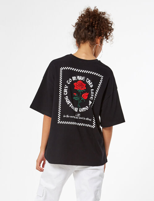 Tee-shirt oversize imprimé