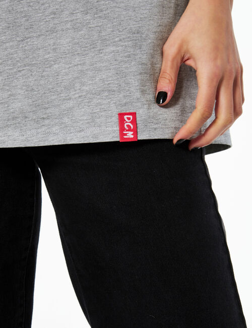 Tee-shirt oversize zero etichette