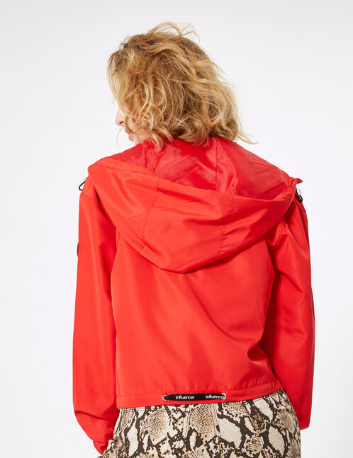 Lightweight red jacket