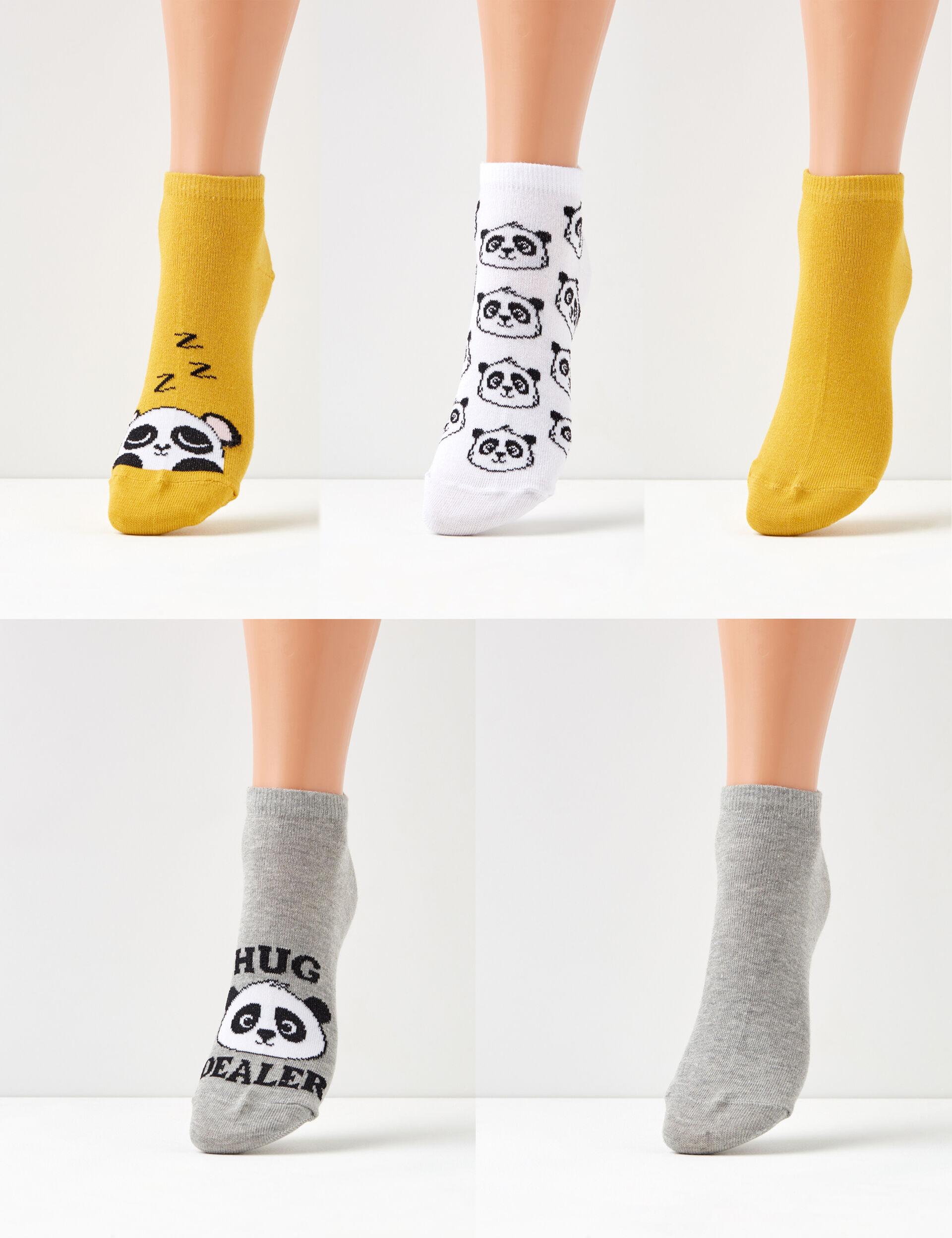 Chaussettes panda