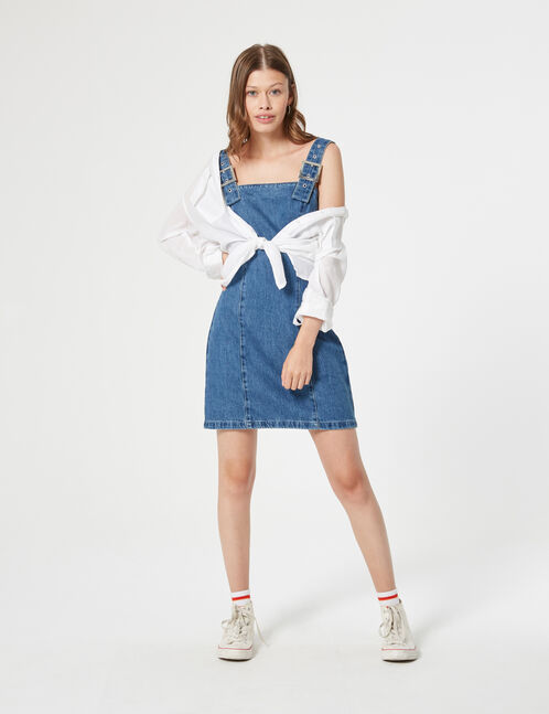robe en jean chasuble