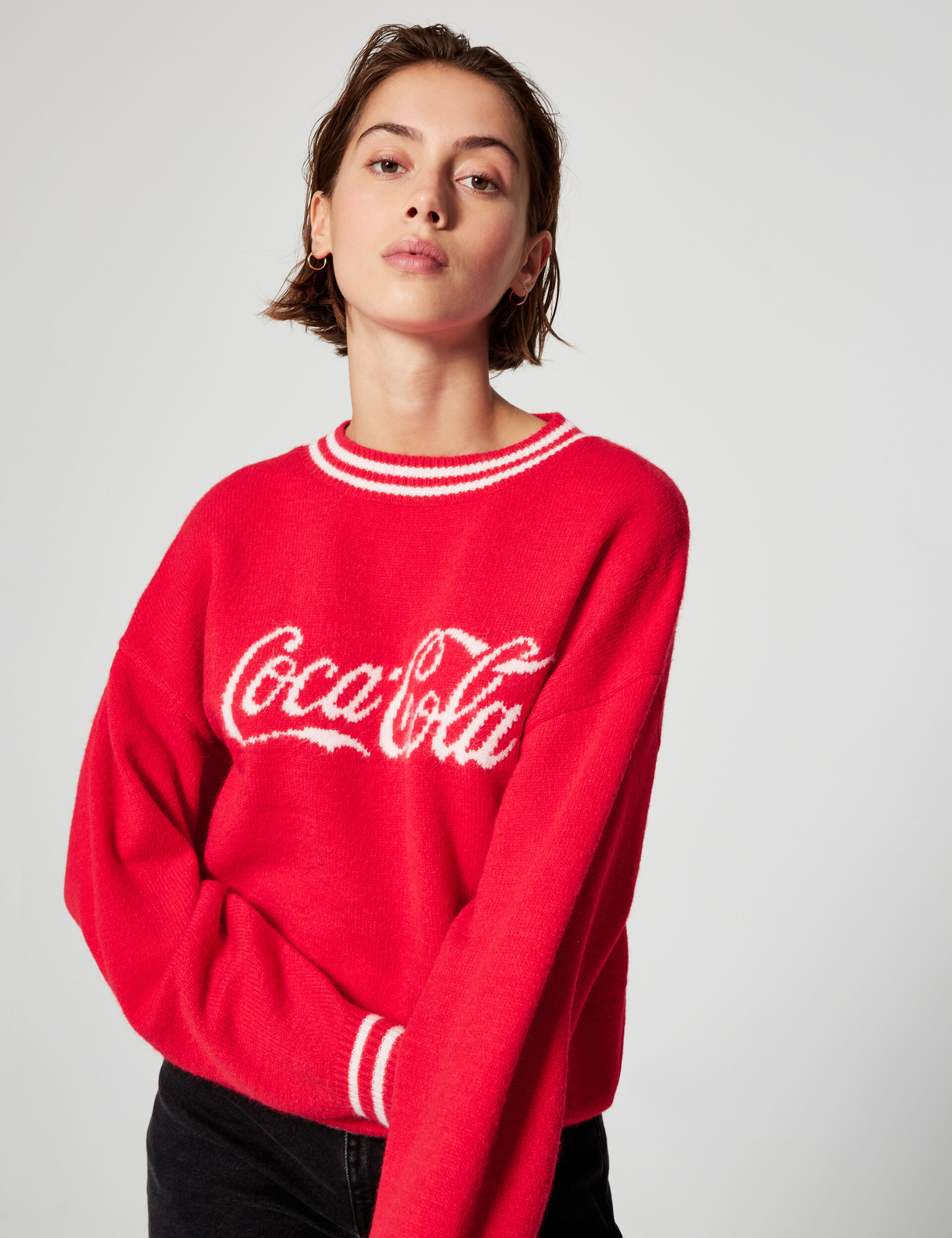 Coca-Cola loose-fit jumper
