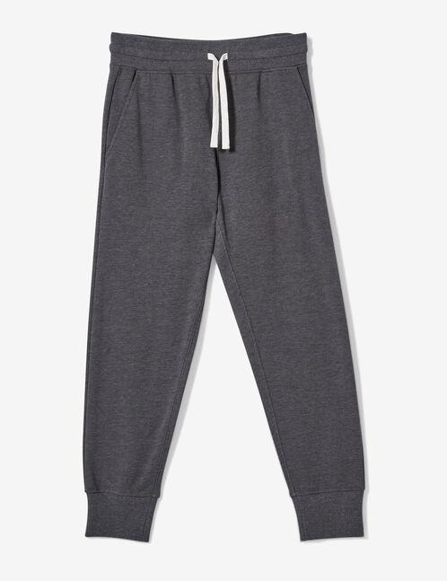 Charcoal grey marl joggers