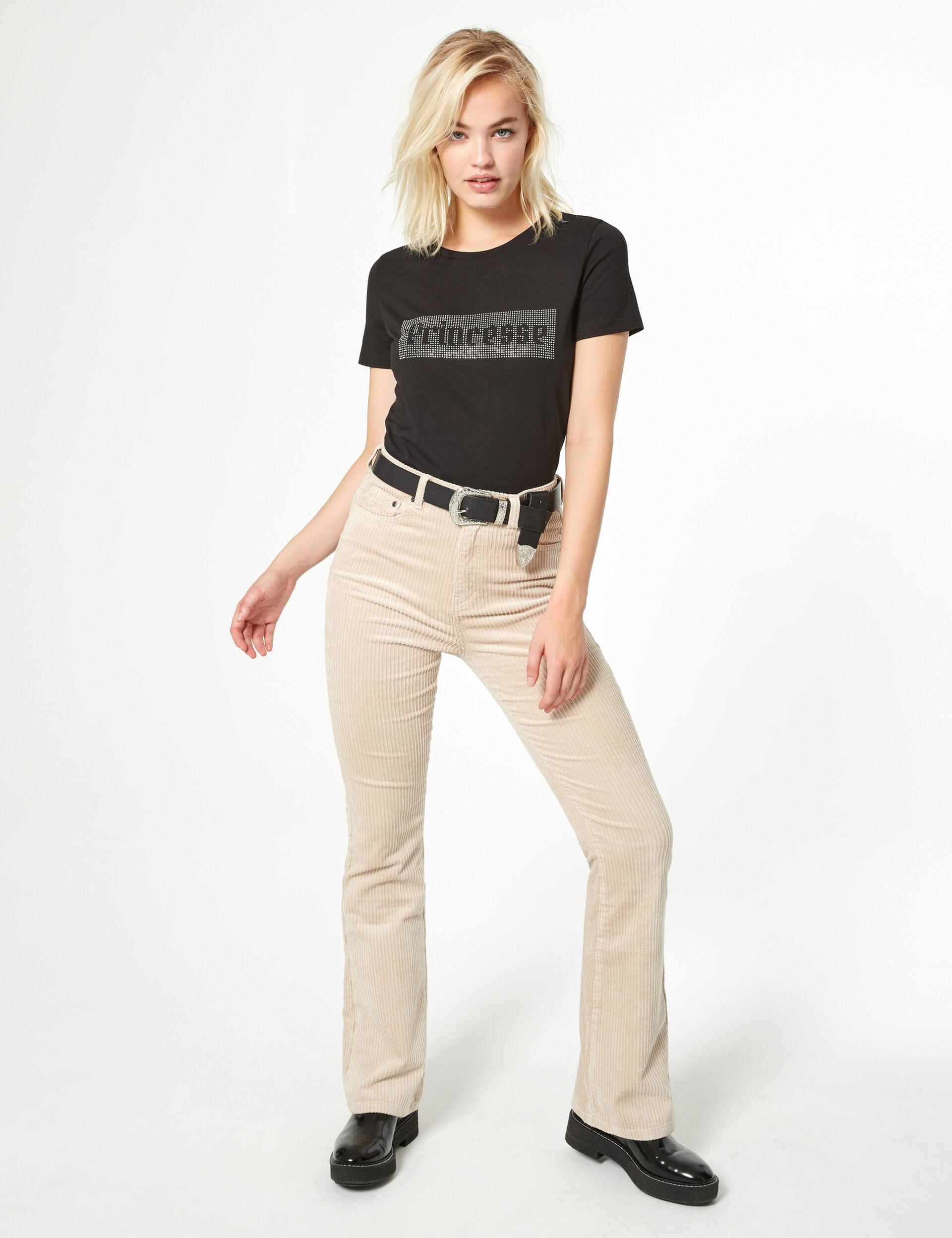 Rhinestone t-shirt