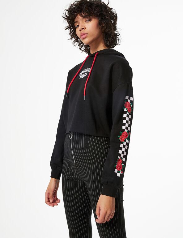 'Breaking rules' hoodie
