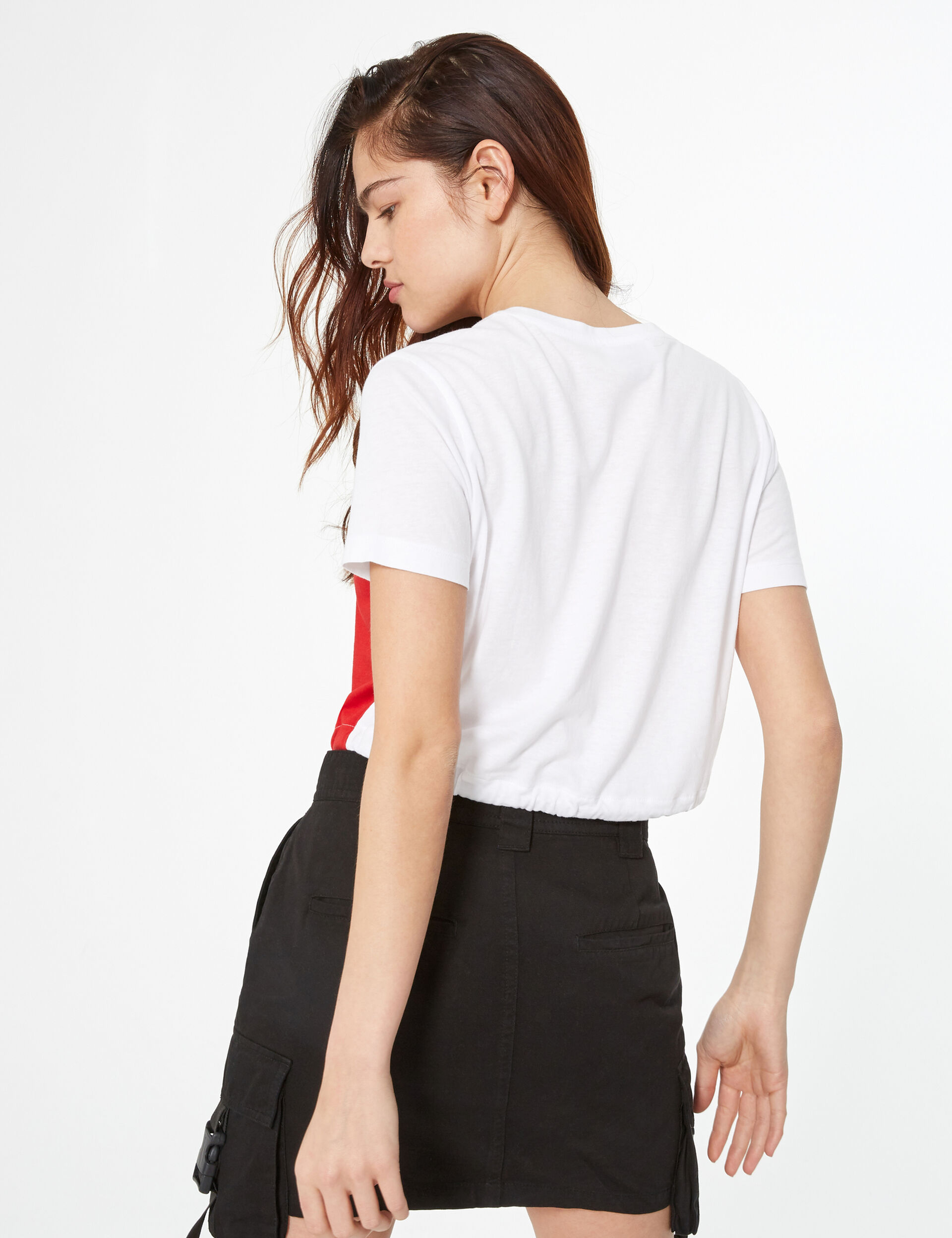 Crop top à message