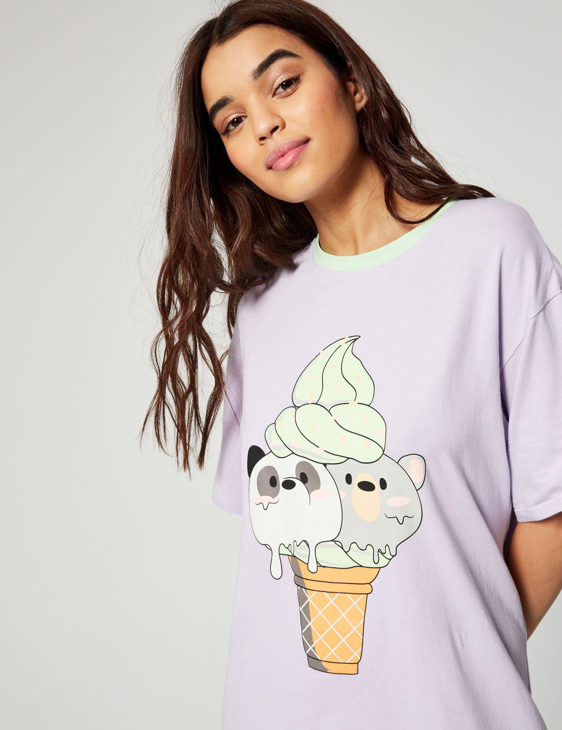 Long pyjama T-shirt