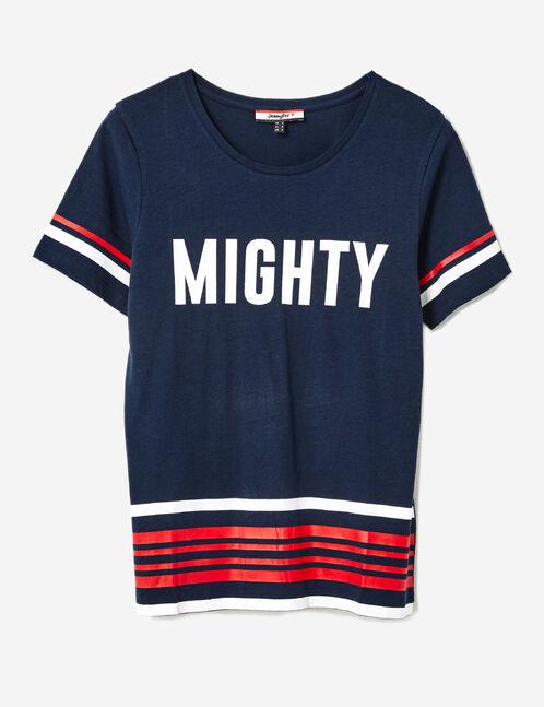 tee-shirt mighty bleu marine