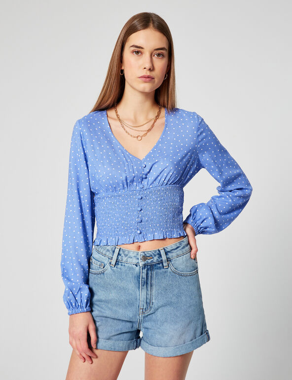 Short en jean mom