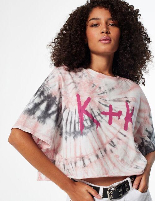 Tee-shirt court Kendall + kylie