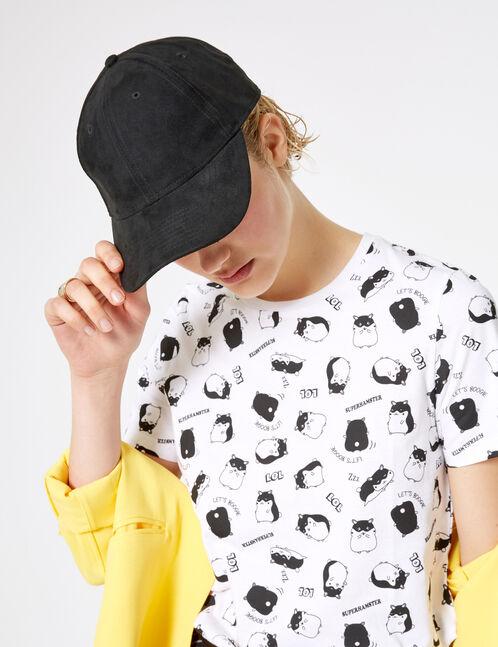 White hamster T-shirt