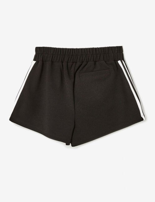 short rayures côtés noir