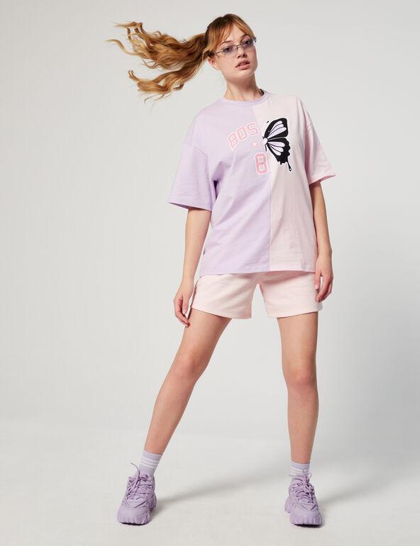 Tee-shirt oversize à motifs