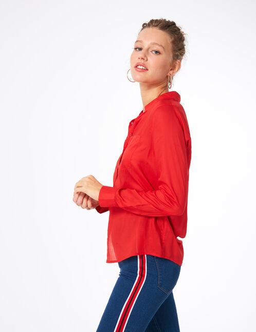 Basic red shirt