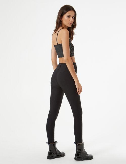 pantalon stretch avec boucle