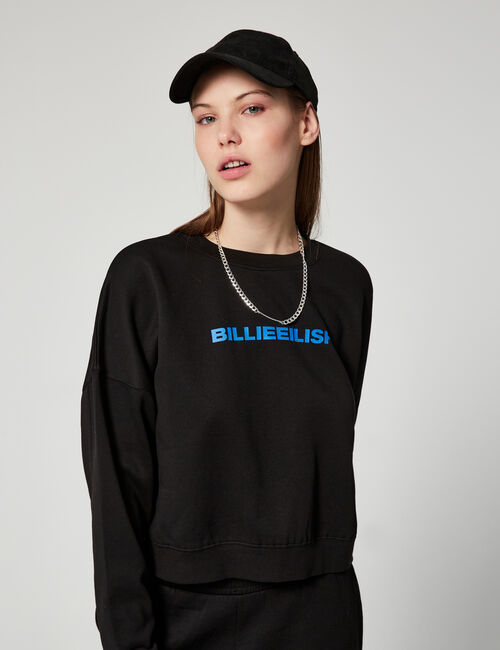 Cropped Bill. E  sweatshirt Basic