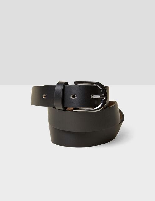 ceinture basic en cuir